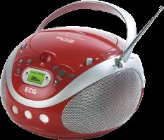ECG CDR 677 MP3 RED