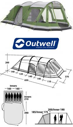 Outwell Evolution Nevada XLP