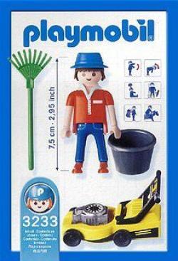 Playmobil set 3233 Modern House Mann mit