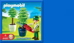 Playmobil set 4485 City Life Gärtner mit