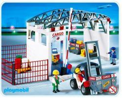 Playmobil set 4314 Airport Cargohalle mit