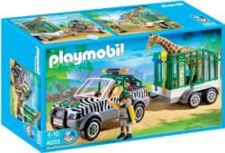 Playmobil set 4855 Zoo Zoo Fahrzeug mit