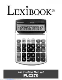 Lexibook PLC270