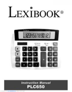 Lexibook PLC650