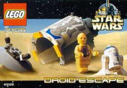 Lego set 7106 Star Wars Droid