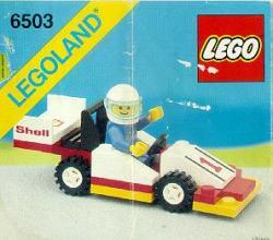 Lego set 6503 Town Sprint