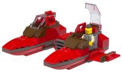 Lego set 7119 Star Wars Twin-Pod Cloud